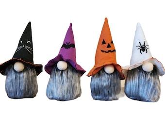 Halloween Gnome Plush / Halloween home Accent / Rustic / Hand made Halloween Plush