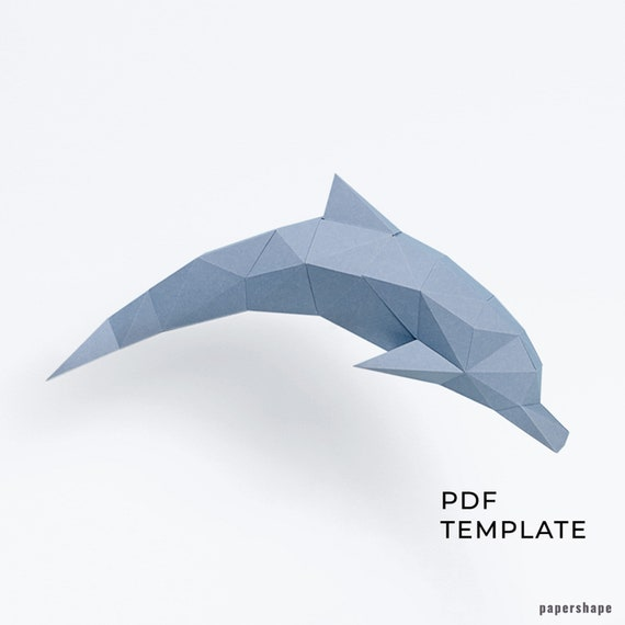 Origami Dolphin - simple origami making - paper folding step by ...   570x570