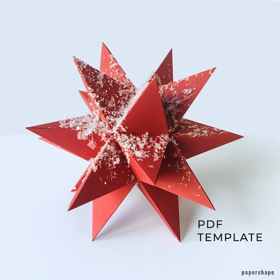 PAPYRUS Origami Christmas Tree Topper - Gold Star, Classic, XMas ... | 570x570