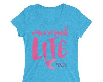 Mermaid Life Triblend T-Shirt - Women's - Mermaids On Duty