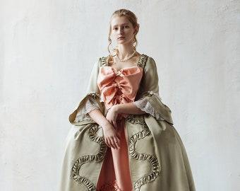 0d7769a074 Robe a la Francais Rococo dress