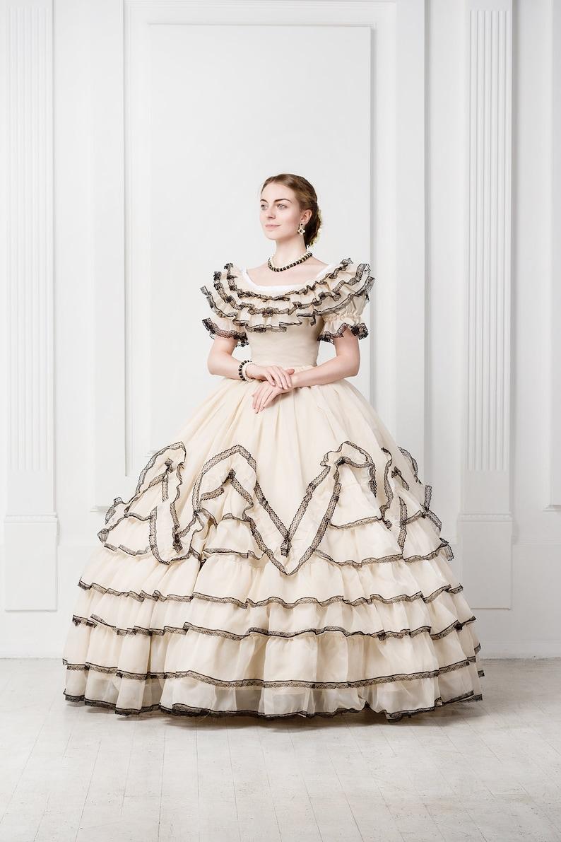 Siècle Robe MariéeStyle De Scarlett O'haraXixe eWIED2YH9