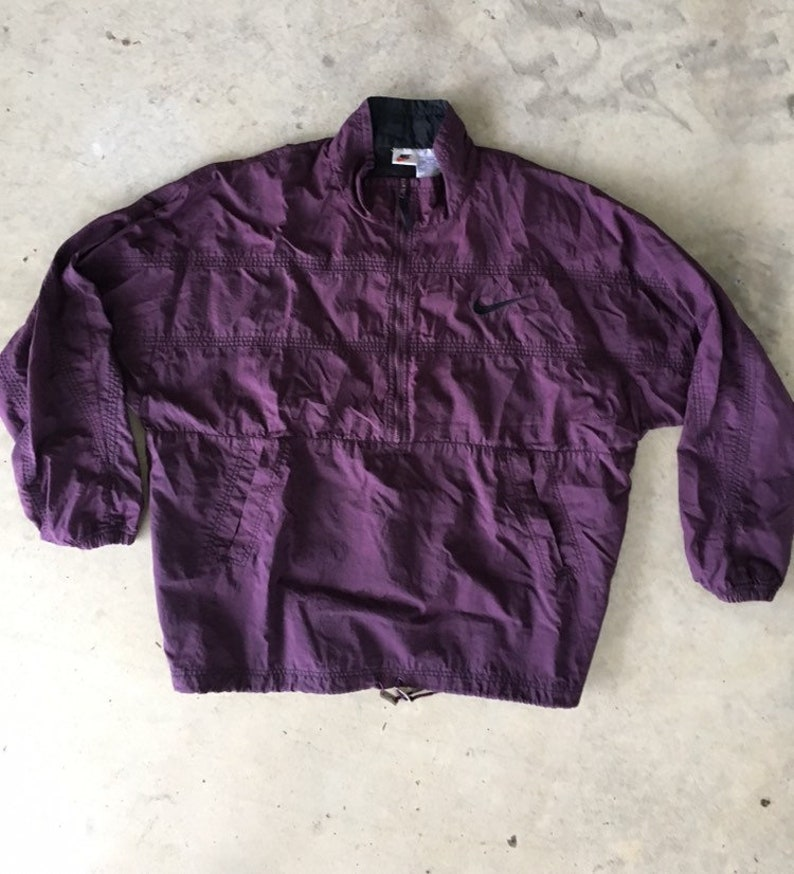 Deep purple Nike windbreaker