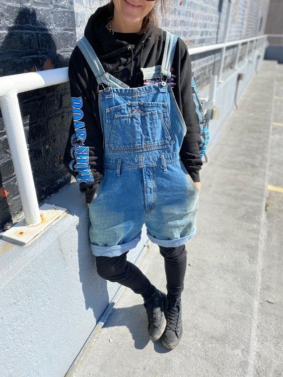 Cotler Vintage 90s Denim Overalls (Shorts)