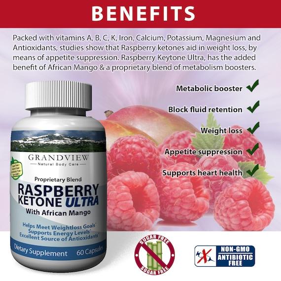 Raspberry Ketone Ultra Ultra Fat Blocker Weight Loss Etsy