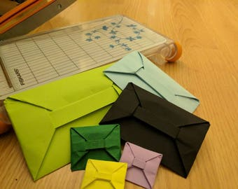 Origami envelopes!