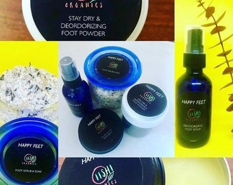 Happy Feet Foot Care Set , tired feet, foot repair, foot care set, foot spa, anti-fungal, Father's Day Gift