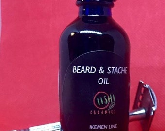 Beard Oil, 4oz Beard and mustache oil, Mustache Grooming, Mustache and Beard Conditioner, Father's Day Gift