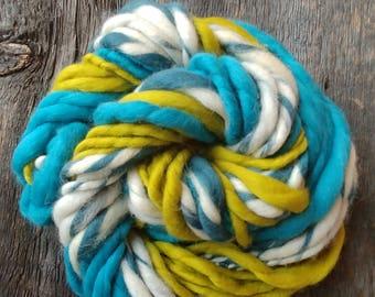 Super Chunky Merino Wool Hand spun Yarn