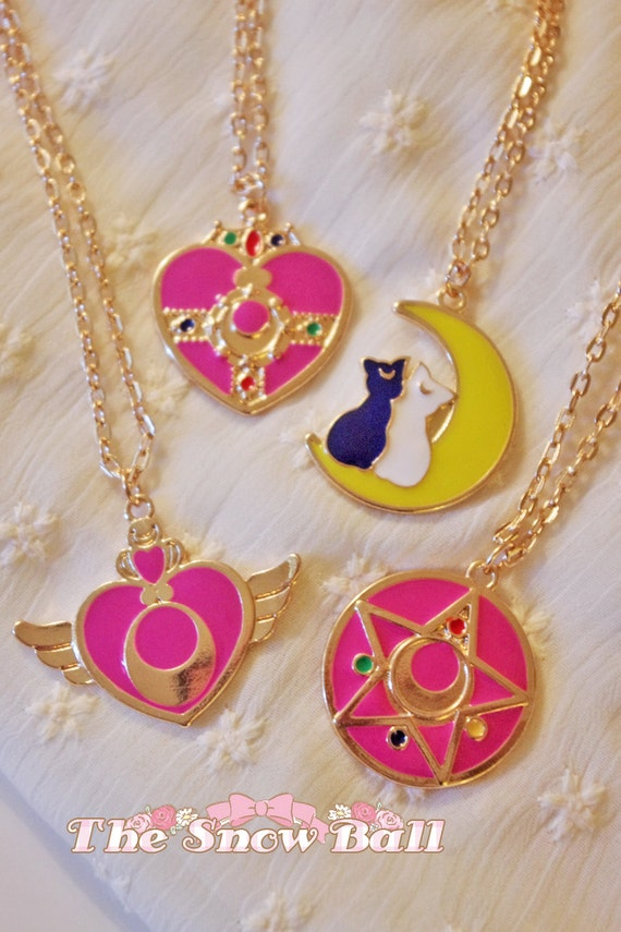 Costumes & Accessories Novelty & Special Use Anime Sailor Moon Cosplay Accessories Necklace Luna Artemis Pendant Kawaii Cat Alloy