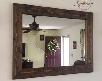 Bathroom Mirror Etsy
