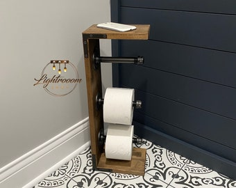 Toilet Paper Stand Etsy
