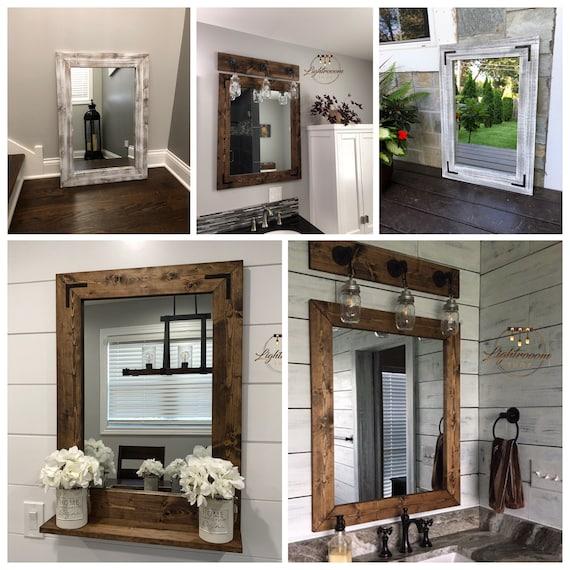 Dark WALNUT Ensemble de salle de bains rustique, ensemble de tuyauterie  industrielle, accessoires de salle de bains complètes, décor rustique,  salle ...