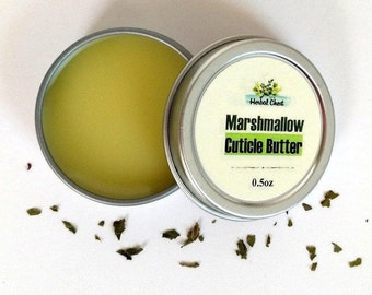 Cupuacu Cuticle Butter, Unscented Nail Nourish Treatment Balm, All Natural Skin Care Product