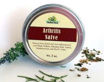 Arthritis Cream, Chronic Pain Relieving Balm Muscle Rub, Joint Nerve Herbal Healing Salve, Self Care Gift, Holistic Health Natural Remedy