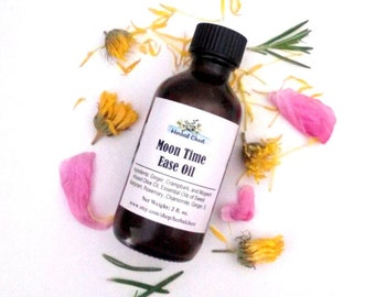 Cramp Relief Pain Oil, Menstrual Cramps Pain Relief, Warming Massage Body Oil, Calming Oil, Herbal Oil, PMS, Vegan, Moon Time, Wellness Gift