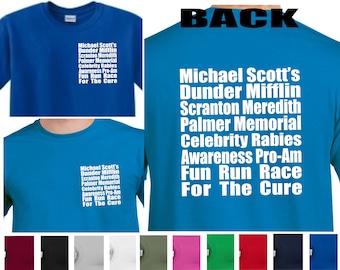 caa0303c The Office Shirt, The Office Fun Run Shirt, Meredith Rabies Awareness The  Office TV Show,