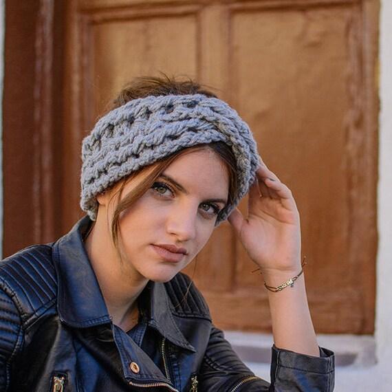 Häkeln Stirnband Winter Stirnband Frauen Stirnband Ohrenwärmer   Etsy