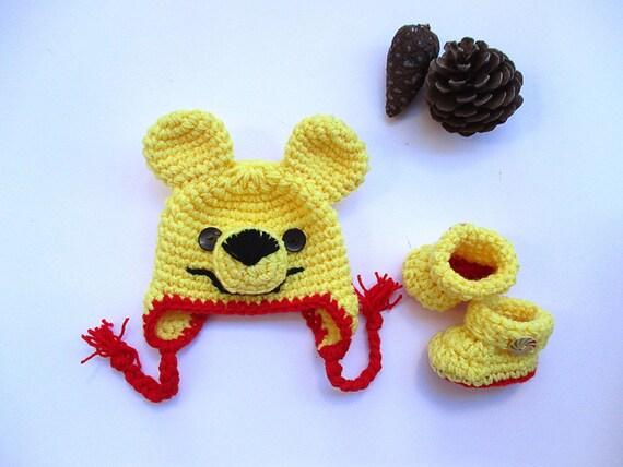 pour bébé Winnie lourson ensemble au Crochet bébé fille et   Etsy 7d7deed3859