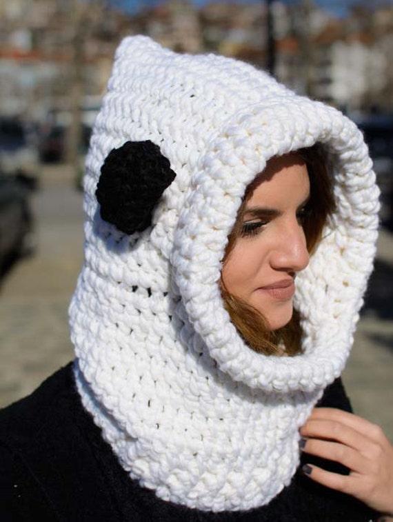 bufanda de crochet con capucha con capucha scoodie chimeneas | Etsy