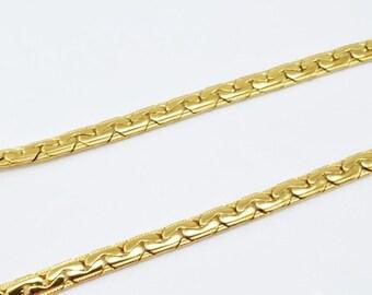 0e2c094ae6cc1 Gold diamond link | Etsy