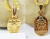 Petite Gold Filled Egyptian Symbol Charms,Coptic Pendants,Bulk Pendants,Gold Filled,Egyptian jewelry,Scarab Beetle,Wholesale Findings