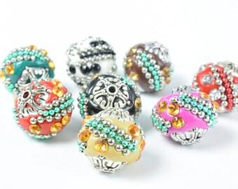 Kashmir Agate Cylinder Shape 6*8MM for DIY Jewelry Making