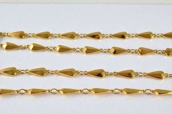18k Gold Filled Chain 19 Inch Cg87 Etsy