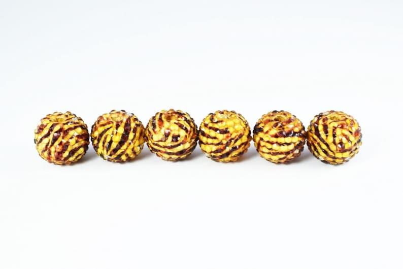22mm Textured Animal Safari Print Resin Wooden Round Beads Wholesale Bead Wooden beads Basketball Wives Bead,Rhinestone Beads,Resin beads