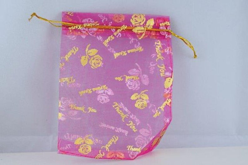 Party Wedding Favors,Colors,ROSES 12 Organza Jewelry Gift Thank You Bags 3x4 for Jewelry