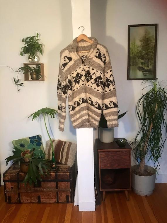 1970s Cowichan Sweater