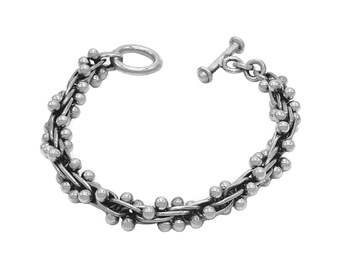 Spratling Style Mexican Bracelet  Sterling