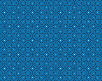Loved to Pieces in Reap and Sew Azul by Mister Domestic for Art Gallery  Fabrics - 1 2 yard 1fa9a9d9c47