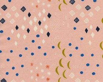 Moonlight Peach from Sienna by Alexia Abegg for Cotton + Steel - 1/2 yard