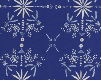 Bandana Sky Rayon from Paper Bandana - 1/2 Yard - Alexia Abegg for Cotton and Steel