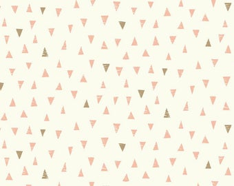 Doodle Day TRIANGLES PINK from Andover Fabrics - 1/2 yard
