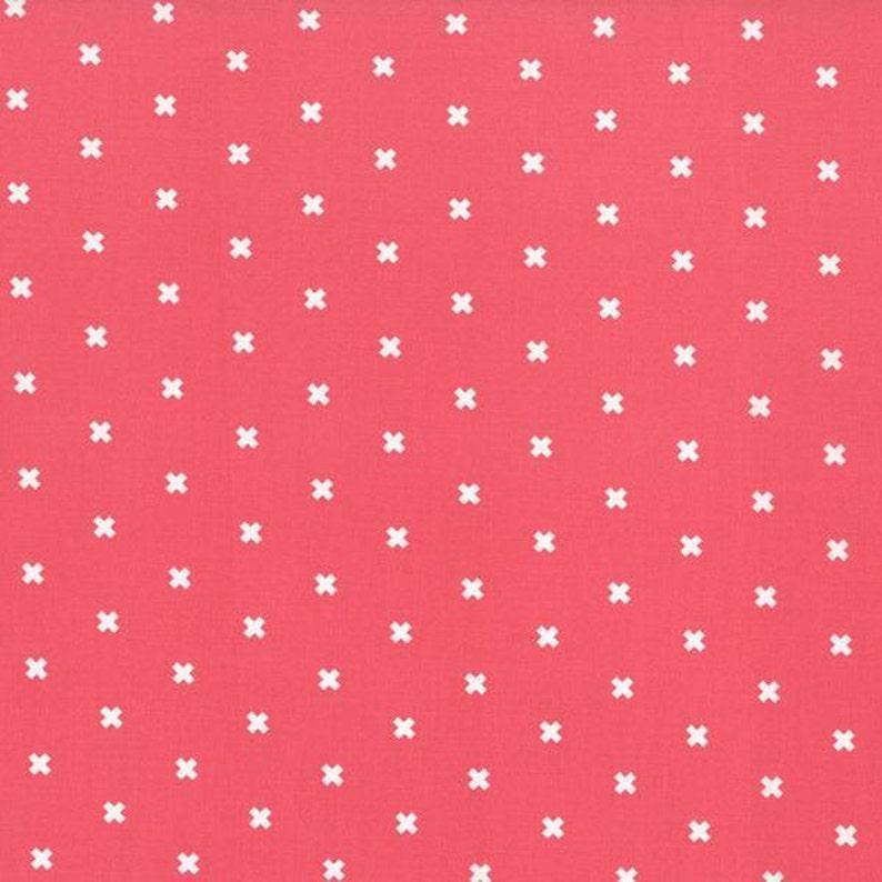 12 Yard XOXO in Pink Cheeks Cotton Steel Basics