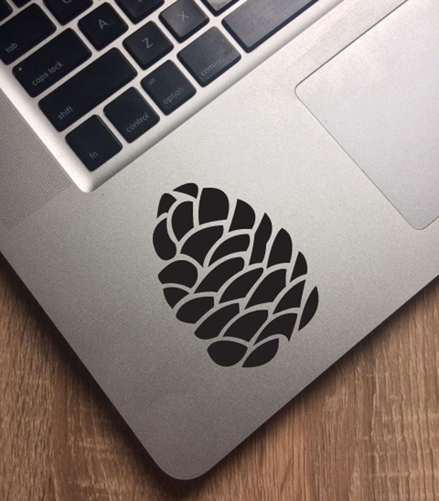 Fun Stickers Pinecone Laptop Decoration Decals Etsy
