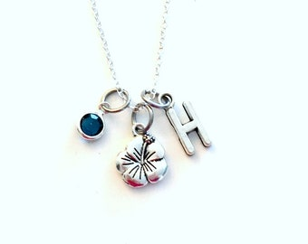 Hibiscus Necklace, Flower Jewelry, Floral Gift for Daughter, Mother, Mom, Grandmother, Flower Girl, Flowergirl, Bridesmaid, Maid of Honor
