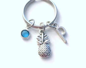 Pineapple Keychain, Gift for Fertility Good luck Key Chain, IFV TTC
