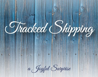 Tracked shipping Upgrade for Canadian Orders