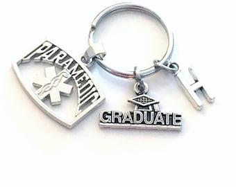 Paramedic Graduation KeyChain,  2021 EMT Grad Keyring, Gift for Paramedic Key Chain Medical present Seller in PEI Canada 2022 2020 him her