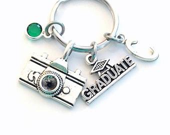 Photography KeyChain / Gift for Visual Artist Graduation Present / Media Art Key Chain / Photographer camera Keyring / Journalist grad