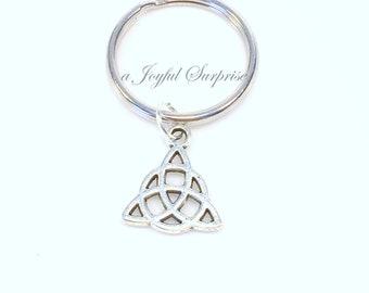 Celtic Triangle KeyChain / Celtic Knot Keyring / Irish Key chain / Wedding favour / For Men Women Man Woman / Grandmother Grandfather Dad