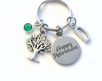 Retirement Gift for Environmental Science Keychain, Forestry Officer Key Chain, Tree Biologist Scientist Conservationist Arborist landscaper