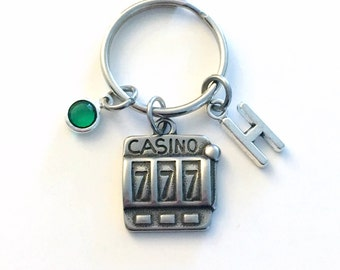Casino Slot Machine KeyChain a1825f6e0