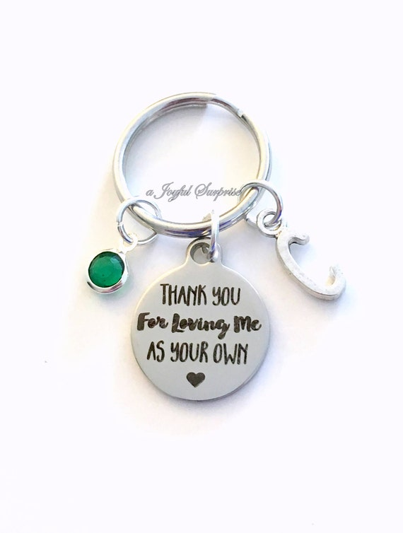 "/""Thank you for loving me as your own/"" Adoption Foster Step pendant x 5"