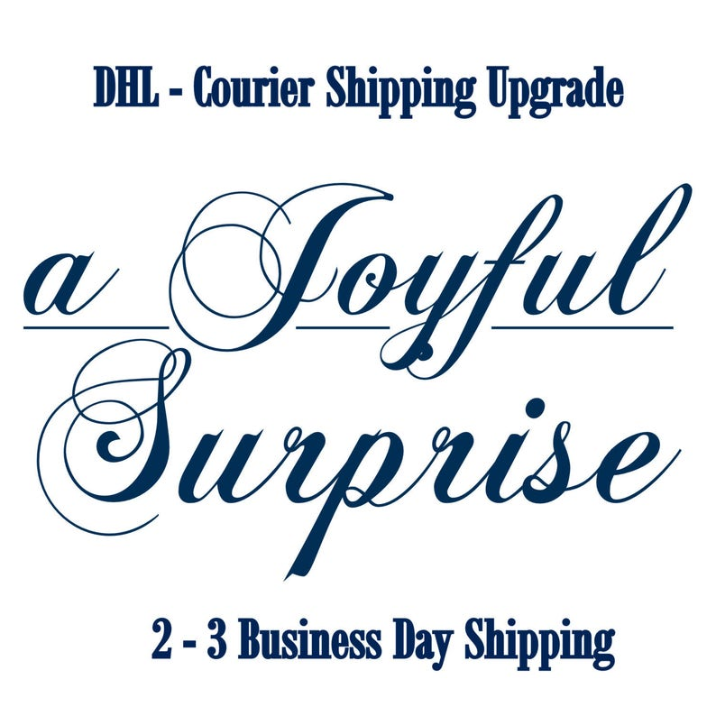 DHL Courier Shipping Upgrade For US Customers from Priority
