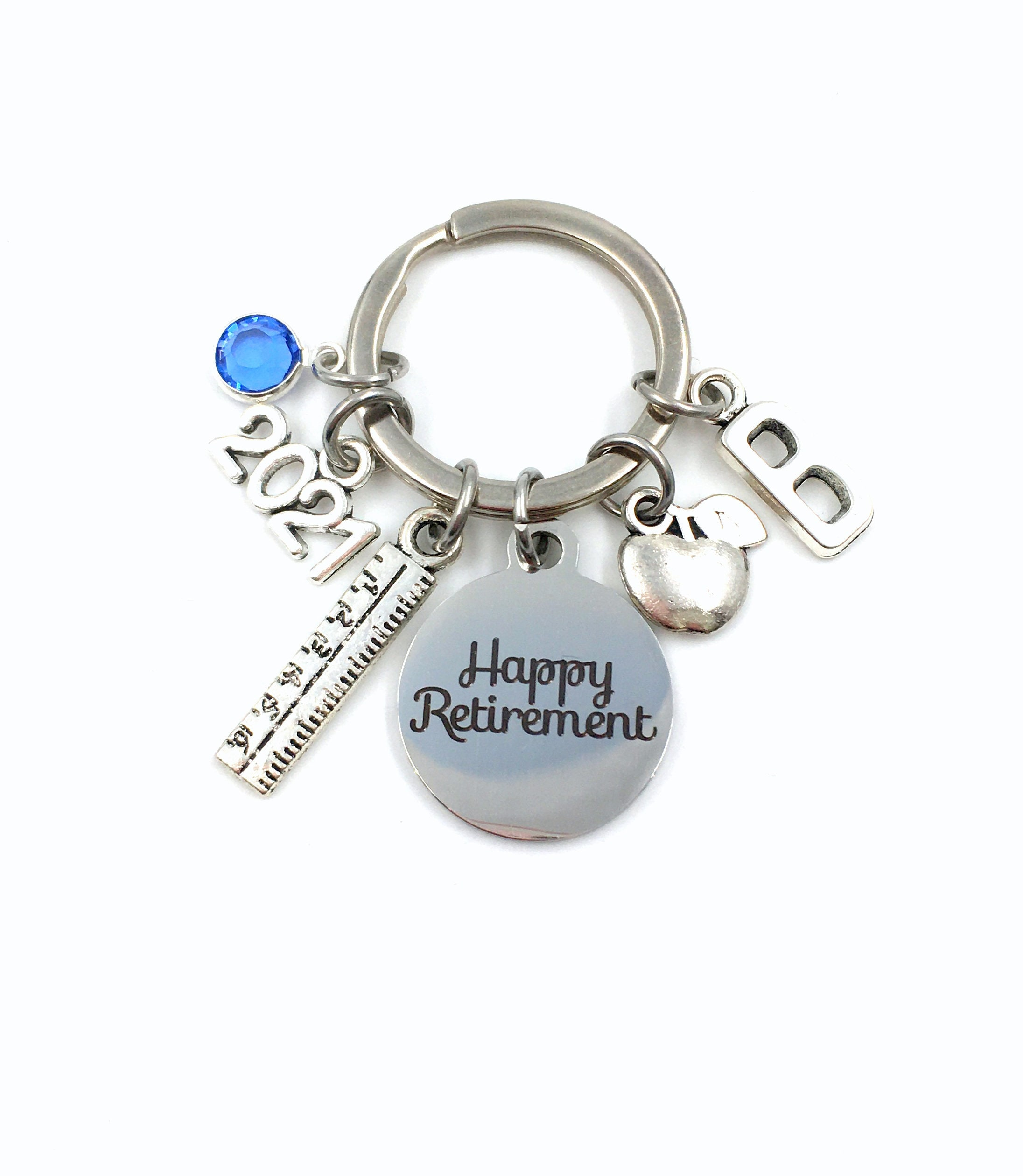 secretary assistant Software Design Key chain laptop present keyring business boss Retirement Gift for Computer Technician Keychain