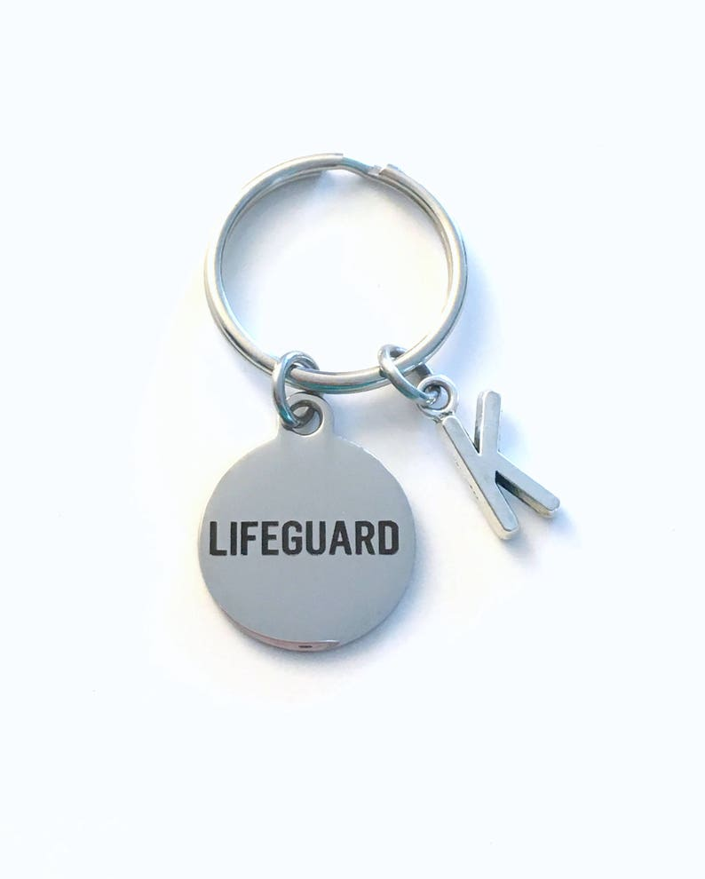 66c84444ad7 Lifeguard Key Chain Life Preserver KeyChain Gift for Swim